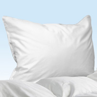 Fiona - Standard Pillow Protector 20x26 - White | Gracious Style