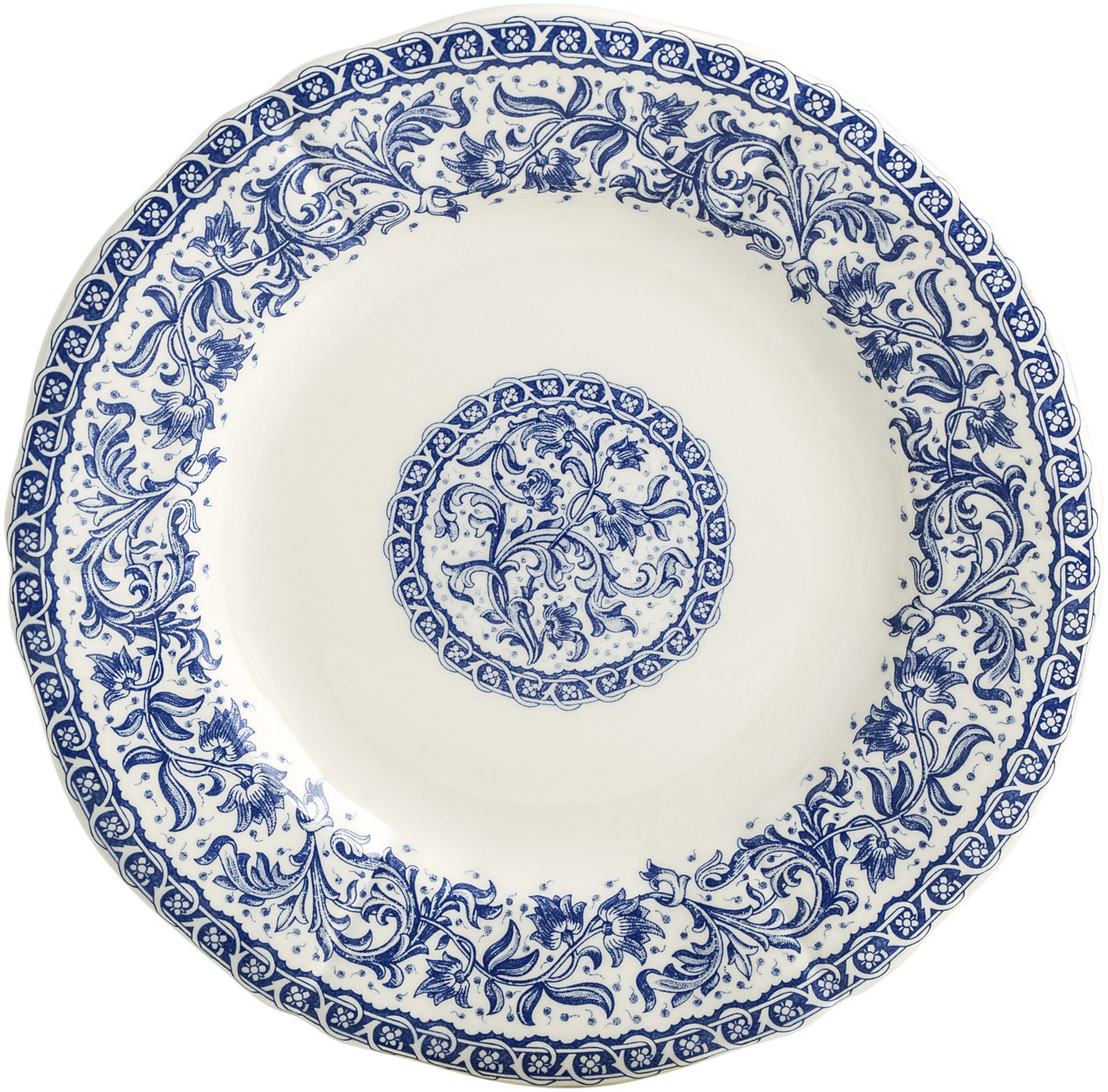 Rouen 37 Canape Plate 6 1/2 In Dia | Gracious Style  sc 1 st  Gracious Style & Gien France Rouen Dinnerware | Gracious Style