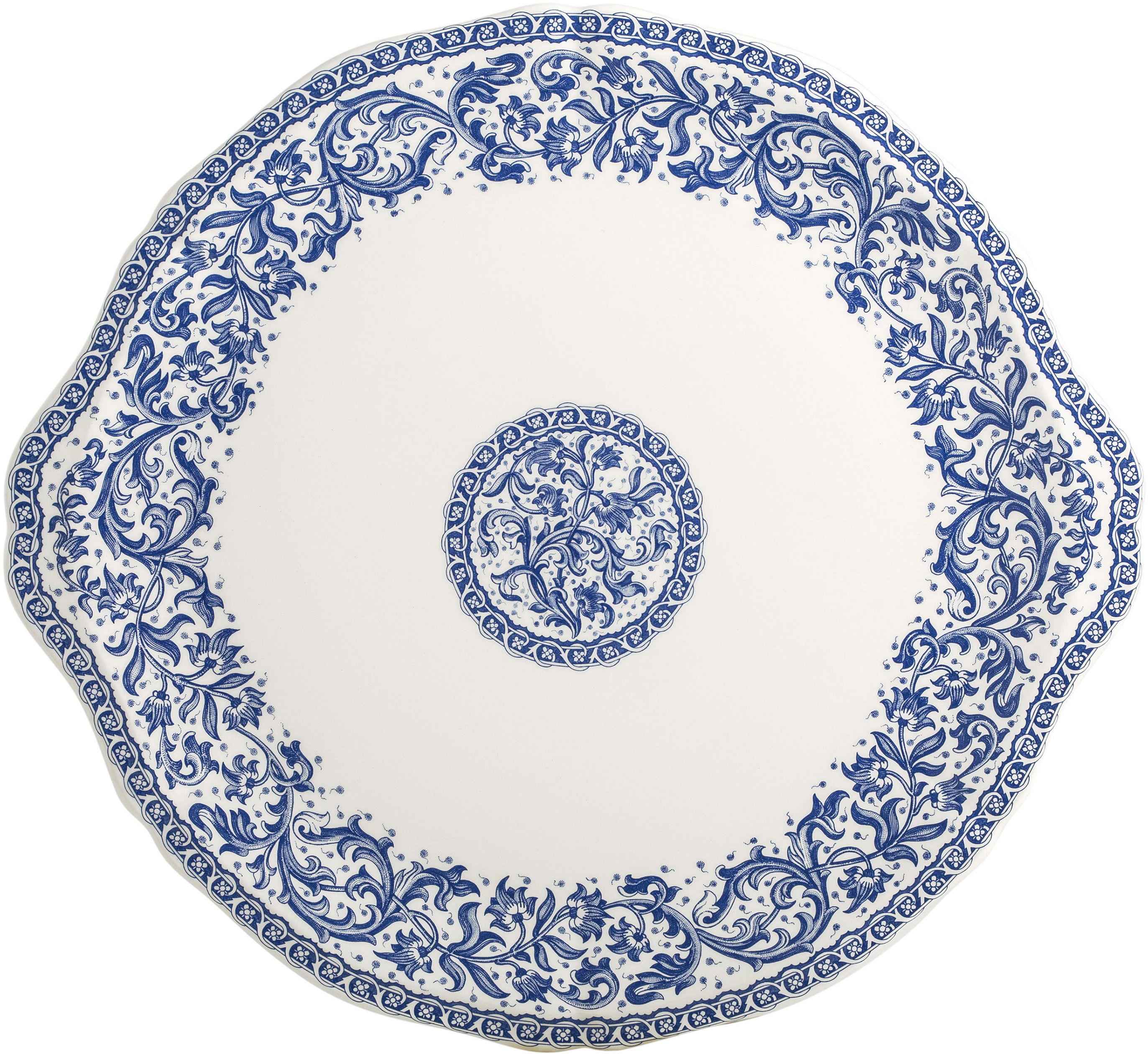 Rouen 37 Cake Platter 13 1/4 In Dia   Gracious Style  sc 1 st  Gracious Style & Gien France Rouen Dinnerware   Gracious Style
