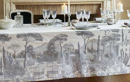 Garnier-Thiebaut French Table Linens