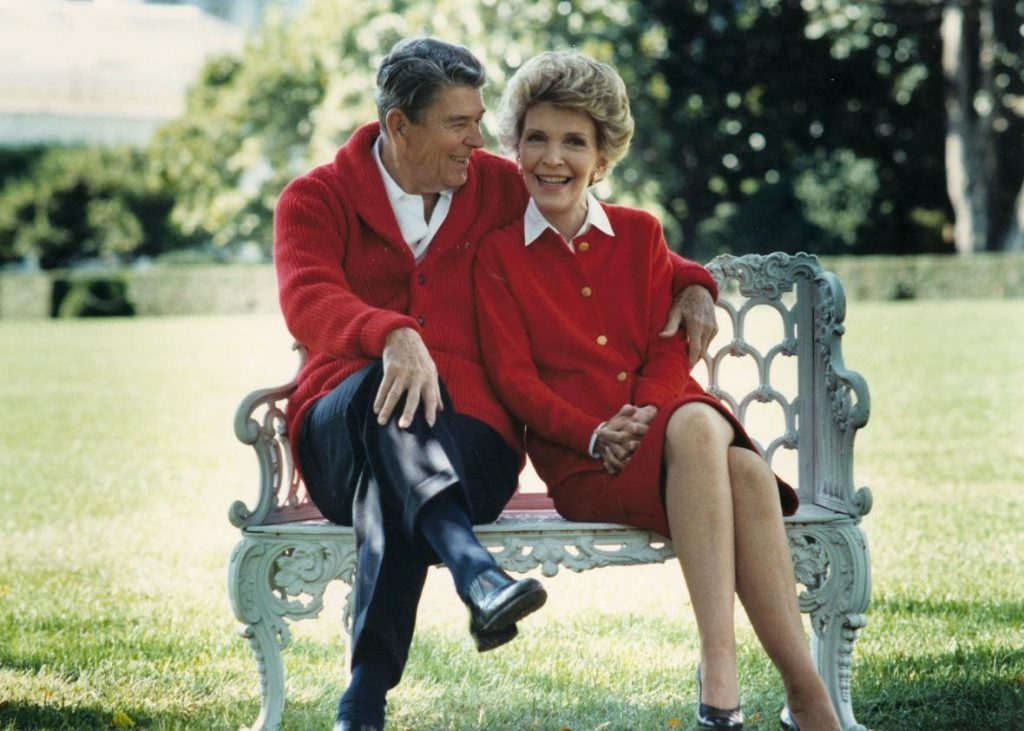 At Home with President and Mrs. Reagan