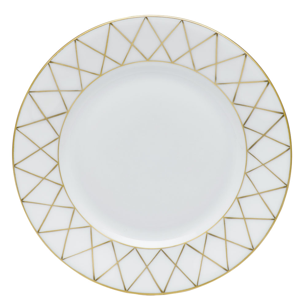 Golden Trellis Babos Or (Gold) Bread And Butter Plate 6  sc 1 st  Gracious Style & Herend Golden Trellis Babos Or (Gold) Dinnerware | Gracious Style