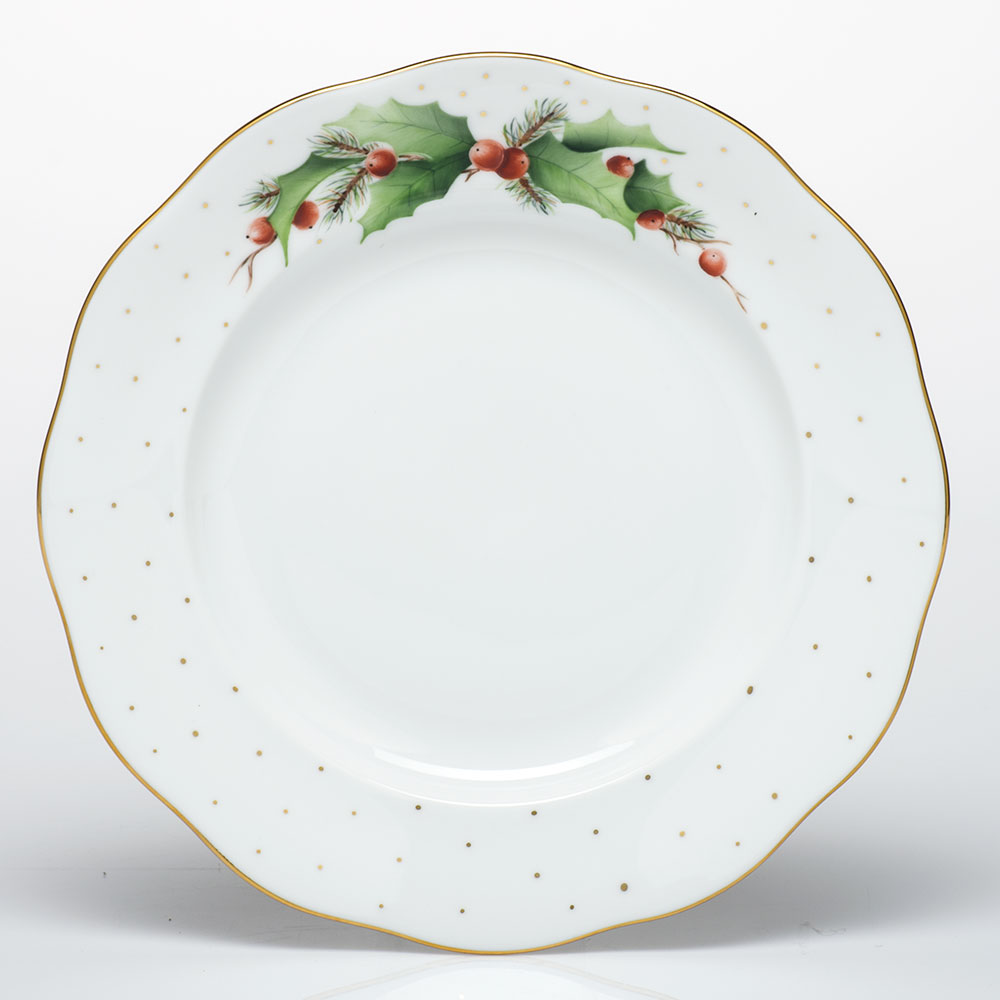 Noels-X2 Winter Shimmer Dessert Plate 8.25  sc 1 st  Gracious Style & Herend Winter Shimmer Dinnerware | Gracious Style