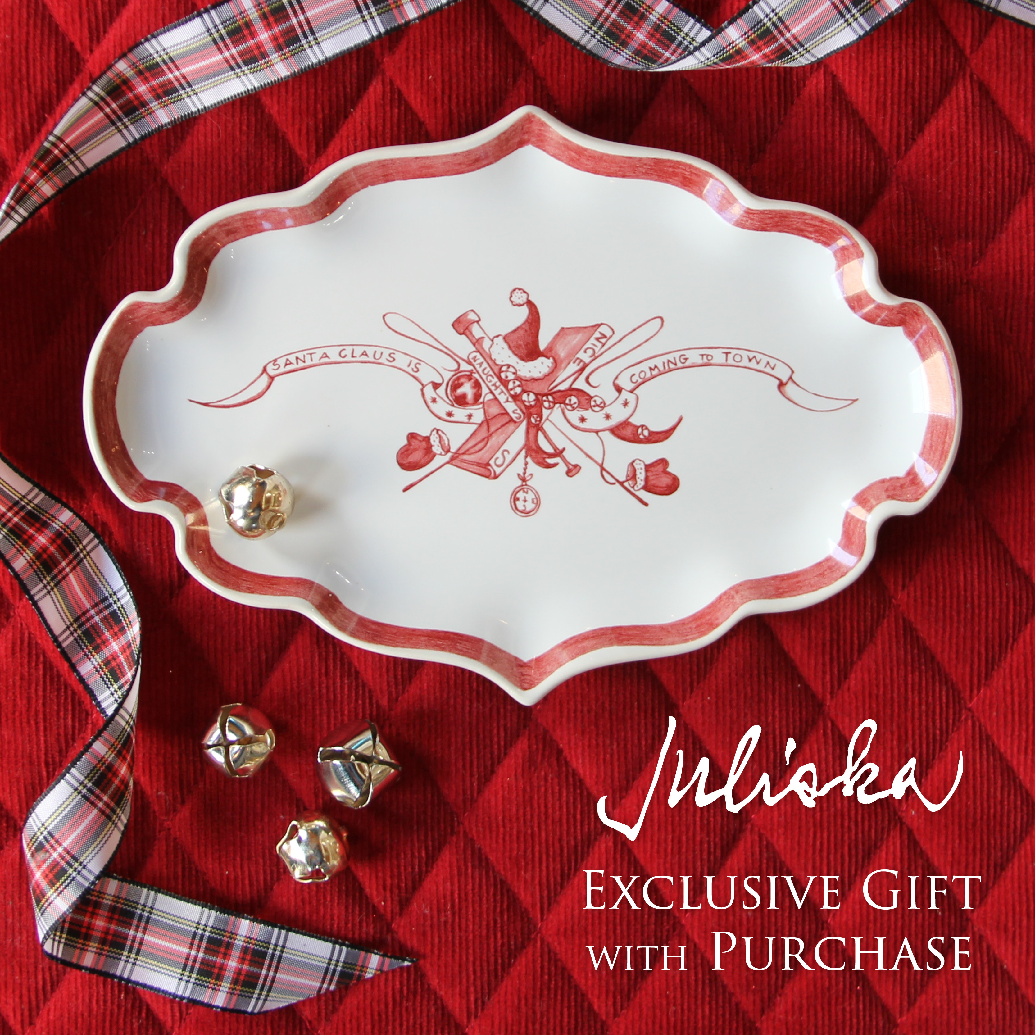 Juliska Free Gift with $100 Purchase!