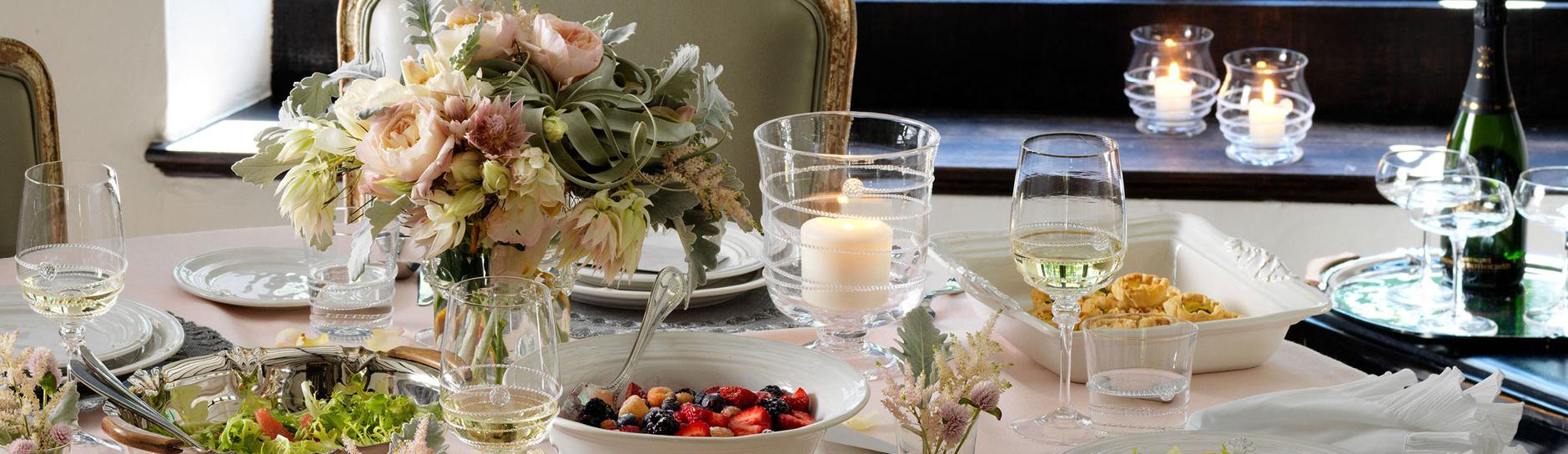 Juliska Dinnerware Stemware Flatware Ceramic Lighting | Gracious Style