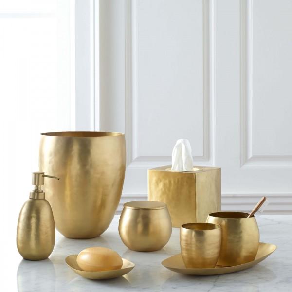 Gold Bath Accessories