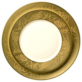 Khazard Gold Porcelain Dinnerware J.L. Coquet   Gracious Style