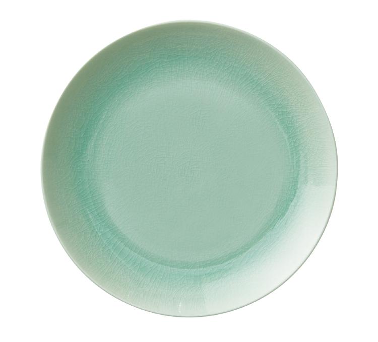 Kim Seybert Crackle Sea Glass Dinnerware | Gracious Style
