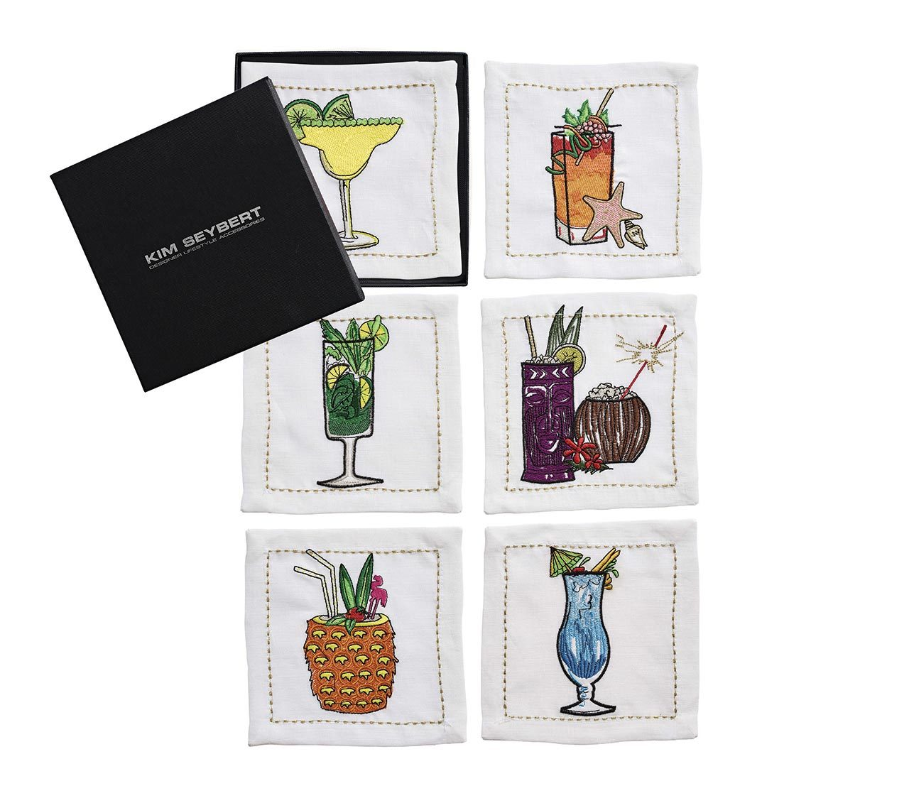 Summer Drinks Cocktail Napkins