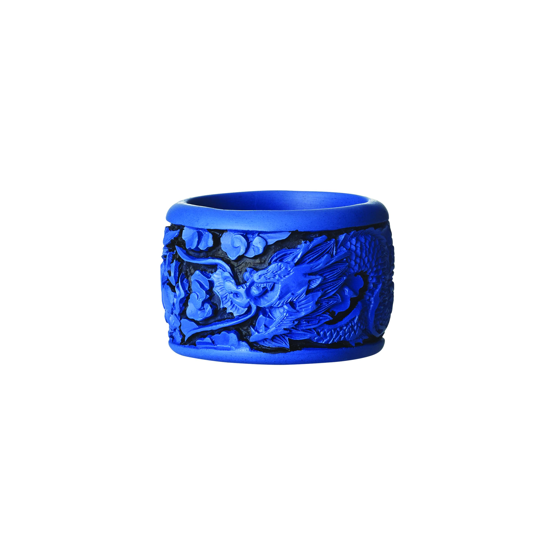 kim seybert chinoiserie blue napkin rings