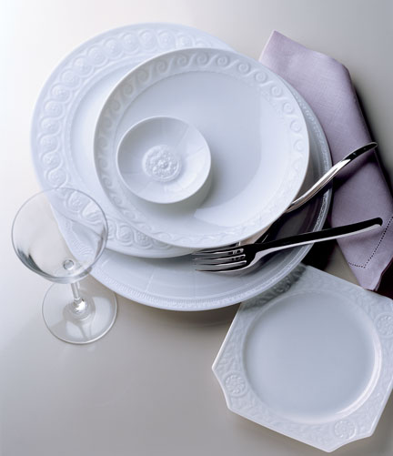 Louvre Dinnerware by Bernardaud