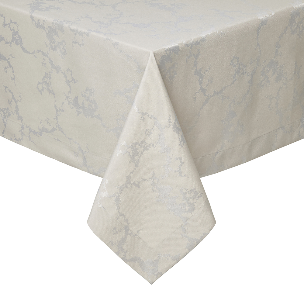 Charmant Carrera Stain Resistant Tablecloth Taupe 66x108 | Gracious Style