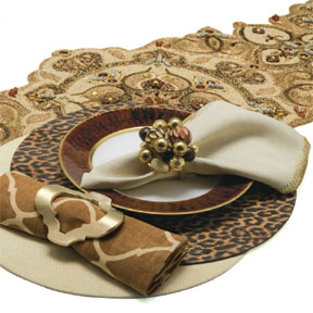 Pattern Play Table Setting