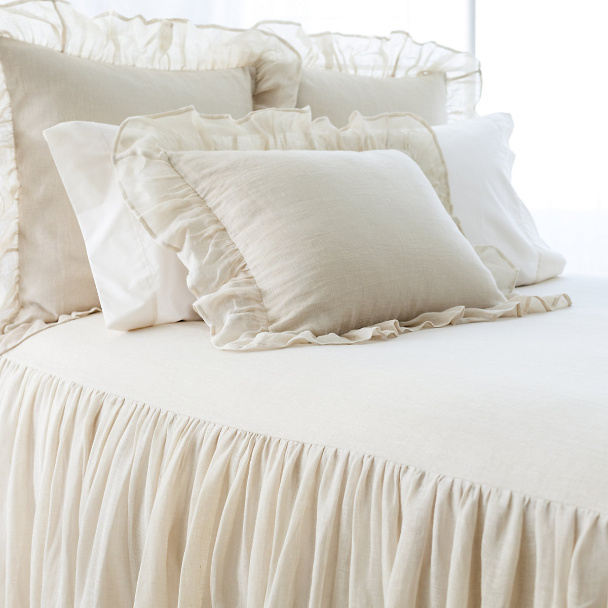 Bedspreads add warmth to your bedroom and offer a cozier night's sleep. Swap them out with the seasons or simply use them to add a new pattern or color to your room when the mood strikes. It's one of the easiest ways to add a little more softness (and style) to your life.