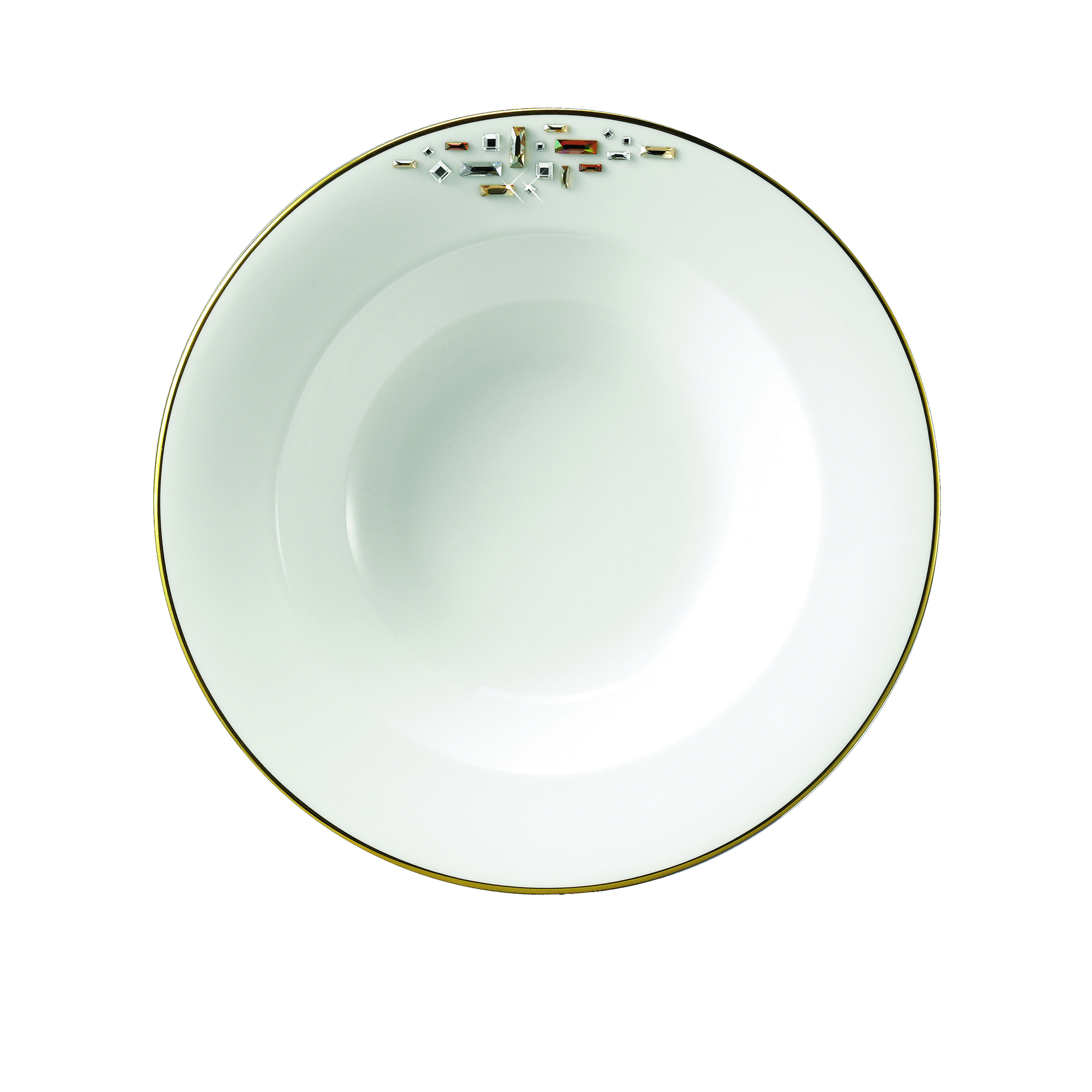 Prouna diana gold dinnerware gracious style for Diana dishes