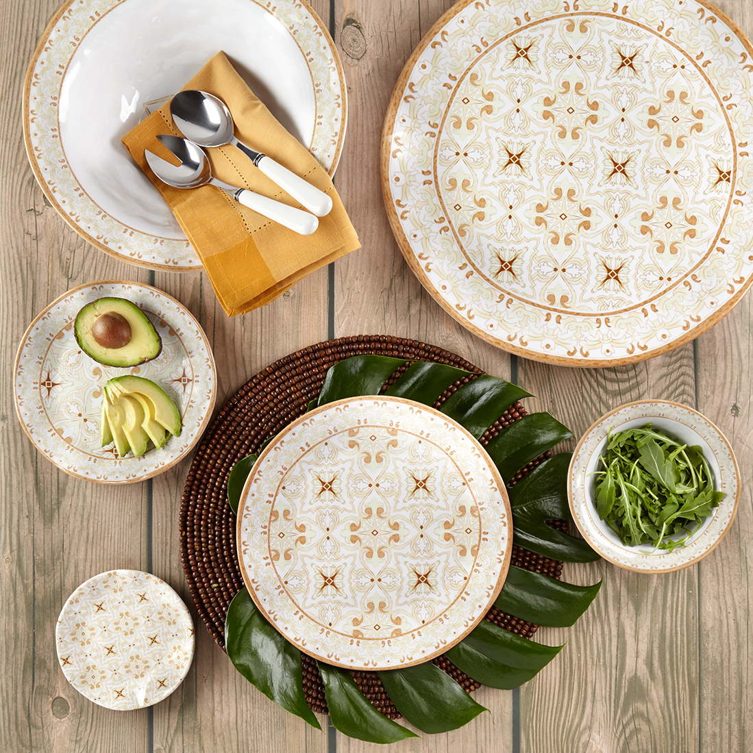 Effortless Entertaining with Melamine Dinnerware