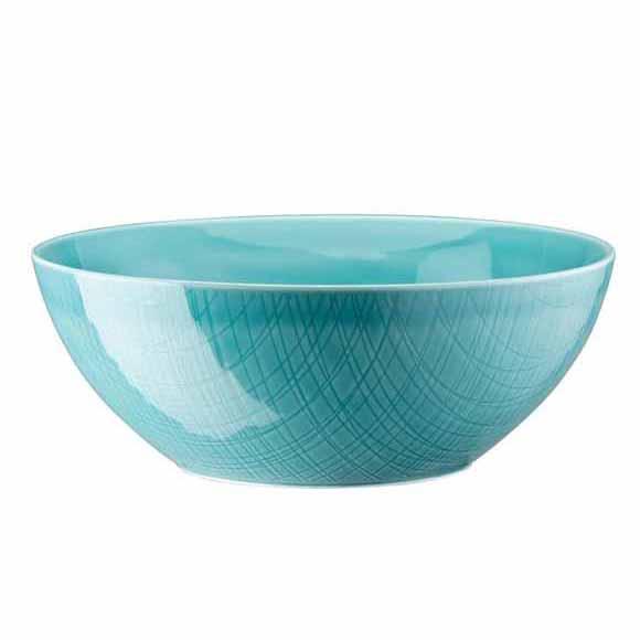 Mesh Aqua Bowl Salad/serving 9 1/2 In  sc 1 st  Gracious Style & Rosenthal Mesh Aqua Dinnerware | Gracious Style