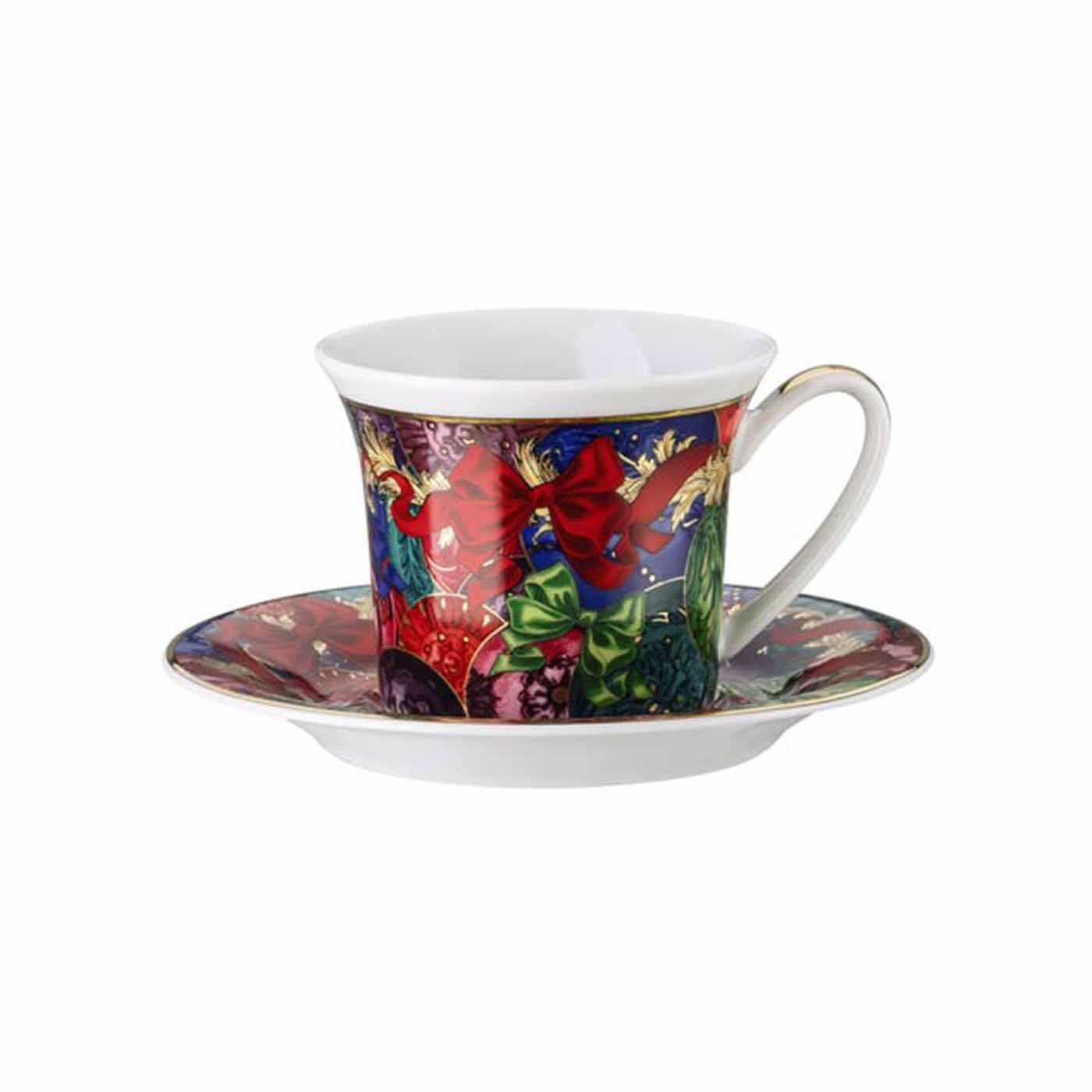 Reflections of Holidays Ad Cup u0026 Saucer 4 1/4 in. 3 oz.  sc 1 st  Gracious Style & Rosenthal Reflections of Holidays Dinnerware | Gracious Style