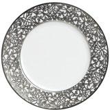 Salamanque Platinum Dessert Plate 8.5 in Round   Gracious Style