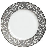 Salamanque Platinum Salad Plate 7.75 in Round | Gracious Style
