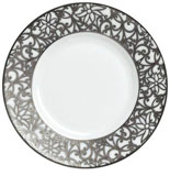 Salamanque Platinum Bread & Butter Plate 6.25 in Round | Gracious Style