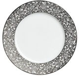 Salamanque Platinum 12.25 in Buffet Plate  | Gracious Style