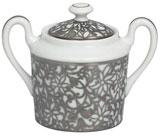 Salamanque Platinum Sugar Bowl   Gracious Style
