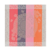 Fleurs Gourmandes Beige Napkin Square 22 in | Gracious Style
