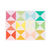 Origami Multico Placemat Rect 19 x 14 in | Gracious Style