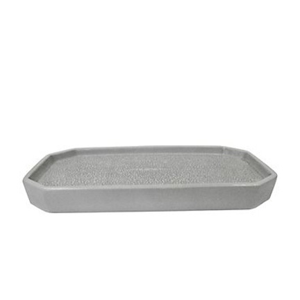 Kassatex shagreen grey bath accessories gracious style for Grey bath accessories