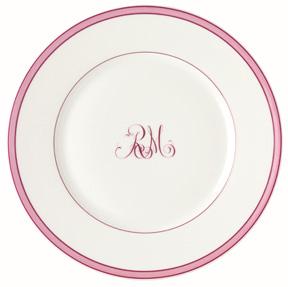 Raynaud Tropic Monogram Dinnerware  sc 1 st  Gracious Style & Guide to Choosing Dinnerware   Gracious Style Blog