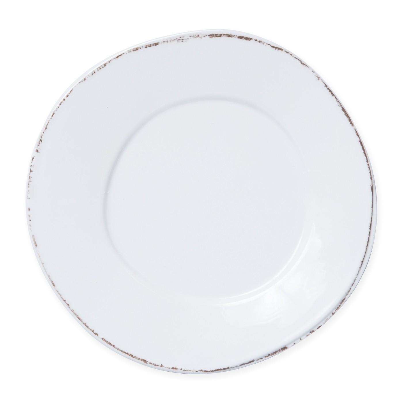 Lastra Melamine White Dinner Plate 11 in rd | Gracious Style  sc 1 st  Gracious Style & Vietri Lastra White Melamine Dinnerware | Gracious Style