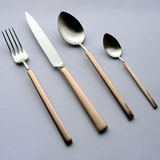 Gold Handled Flatware