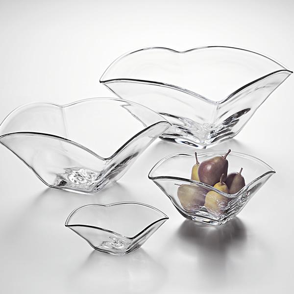 Simon Pearce Woodbury Glass Bowl