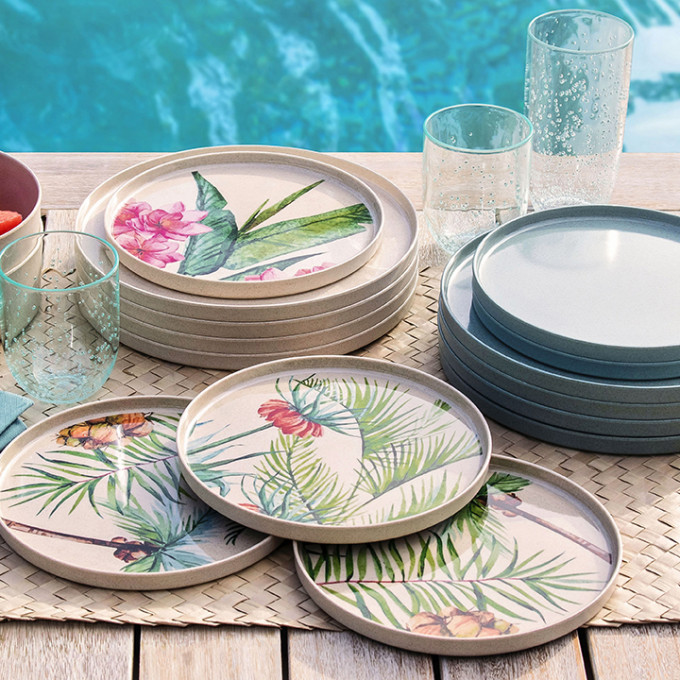 Introducing Bamboo Dinnerware Sustainable living made easier