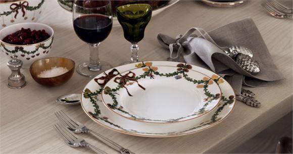 Royal Copenhagen Star Fluted Christmas Dinnerware