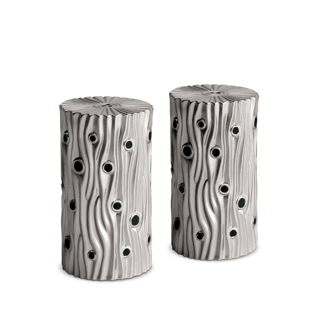 l 39 objet bois de platine salt pepper shakers set of 2. Black Bedroom Furniture Sets. Home Design Ideas