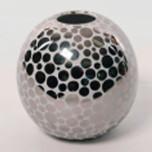 Platinum Dot Globe Vase by Wayland Gregory Ceramics   Gracious Style