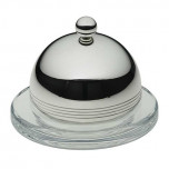 Feeling Individual Glass Butter Dish with Cover