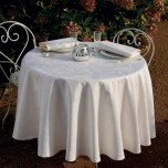 Mille Rubans Ivoire Easy Care Table Linens