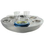 Transat Caviar-vodka set 2 person 2.5 in High