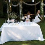 Siena White Table Linens