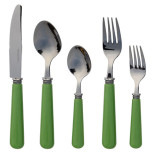 Provence 20pc Set Kelly Green With Matching Caddy