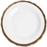 Anna's Golden Patina Dinnerware