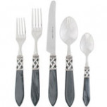 Aladdin Antique Charcoal Flatware | Gracious Style