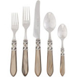 Aladdin Antique Taupe Flatware | Gracious Style