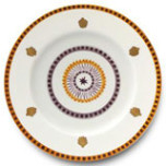 Agra Orange Dinnerware | Gracious Style