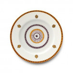 Agra Orange Dinnerware