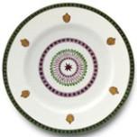 Agra Green Dinnerware | Gracious Style