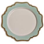Anna's Palette Aqua Green Dinnerware | Gracious Style
